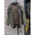 Soft shell jack tactical groen
