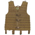 "Tactical vest, ""Molle light"", coyote tan, Modular System"