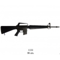 M16A1 assault rifle, USA 1967 (Vietnam War) (1133)