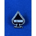 US pin - Vietnam Ace of Spades (020)