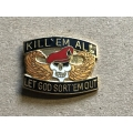 US pin Kill em All  (106)