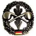 "Duitsland BW baret badge, ""ABC-Abwehr"" metal (87)"