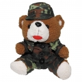 Teddybeer in uniform