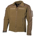 "Fleece-Jacket, ""Combat"", coyote tan"