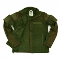 "Fleece-Jacket, ""Combat"", groen"