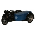 "BSA Motorcycle and Sidecar  ""RAC"" (1687)"