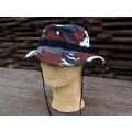 Bushhat Red Camo