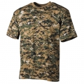 Combat digital woodland, Army t shirt